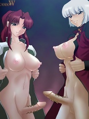 Juicy futa cartoons of horny sluts